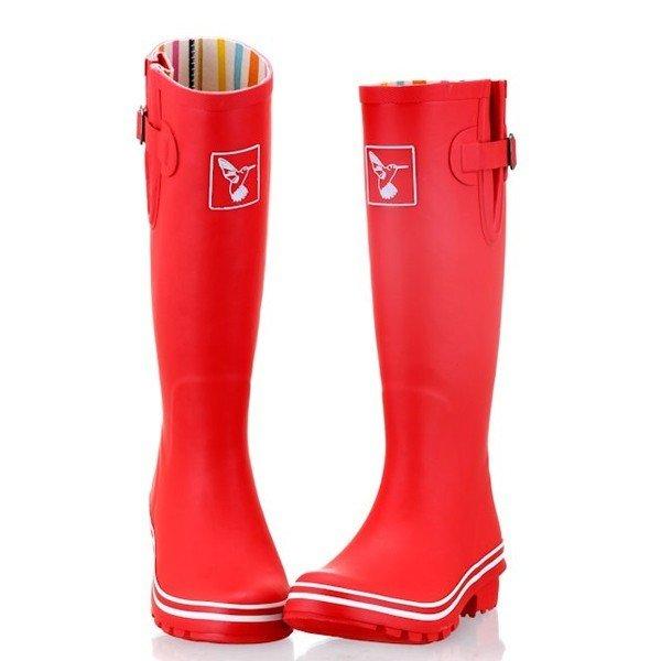bottes de pluie rouge mat jolies bottes de pluie. Black Bedroom Furniture Sets. Home Design Ideas